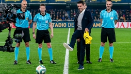 Villarreal pay tribute to Roberto Bautista