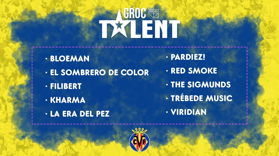 And the Groc Talent contestants are…