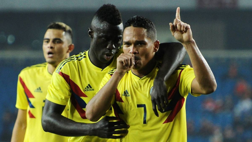 Photo: Bacca scored one and provided two assists for Colombia against China.