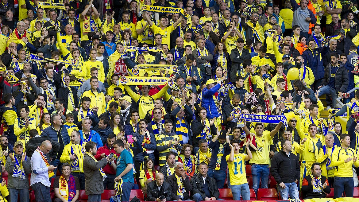 Travel to Rome and cheer on Villarreal!