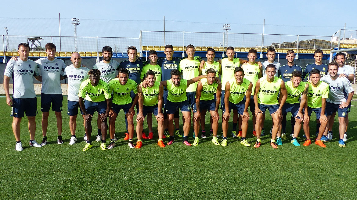 Villarreal B squad for the 2016/17 season