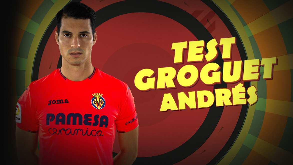 Get to know Andrés Fernández with the 'Yellow Test'!