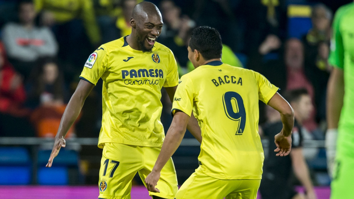 PHOTO: Toko Ekambi scored four goals and Bacca got two in the goal-fest against UD Almería.