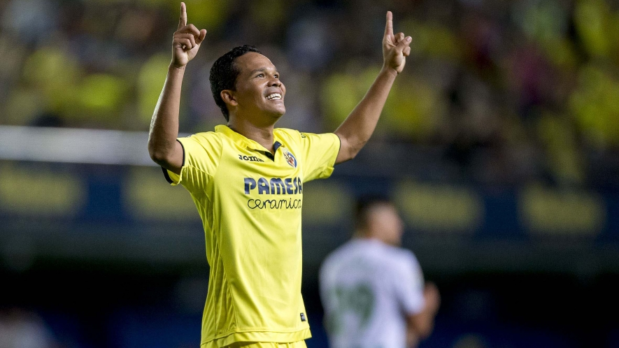 Photo: Carlos Bacca was Villarreal's top goal scorer this season with 18 goals.
