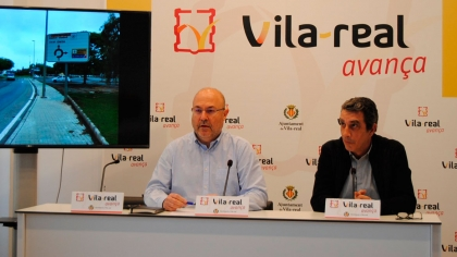 The club helps fund new signage in Vila-real