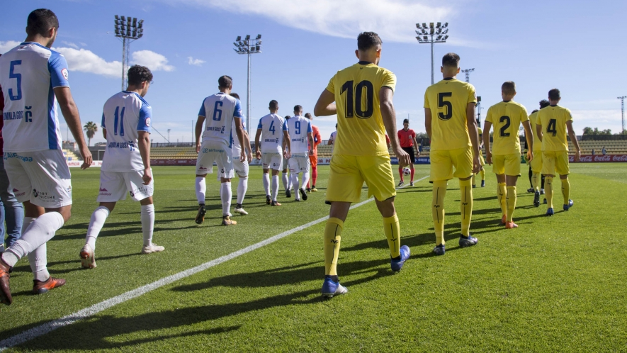 PHOTO: The match between Villarreal B and UE Olot will take place at the Mini Estadi.