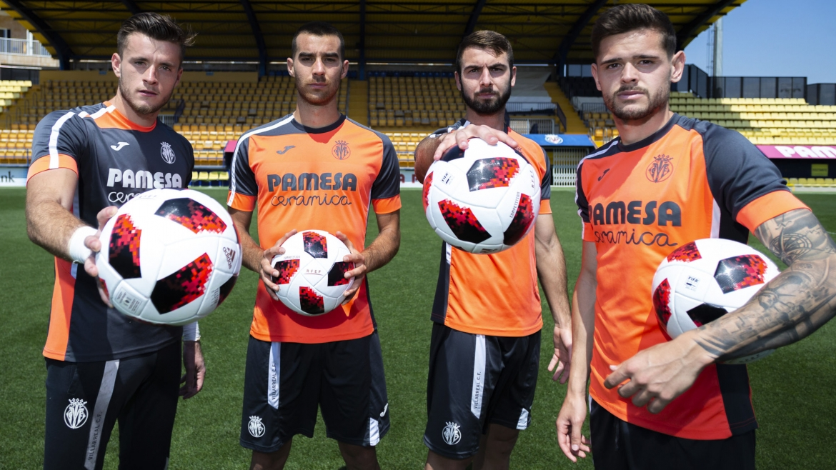 PHOTO: Joan Femenías, Roger Riera, Ramón Bueno and Xavi Quintillà are asking for the fans to get behind the team.||||||