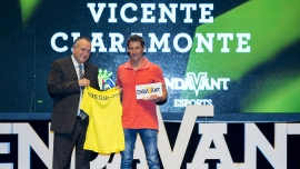 Vicente Claramonte, distinguido por el club
