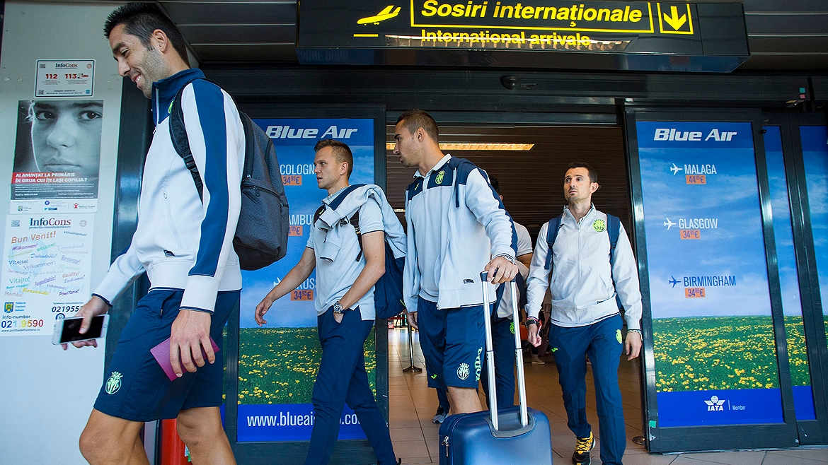 Villarreal are now in Bucharest