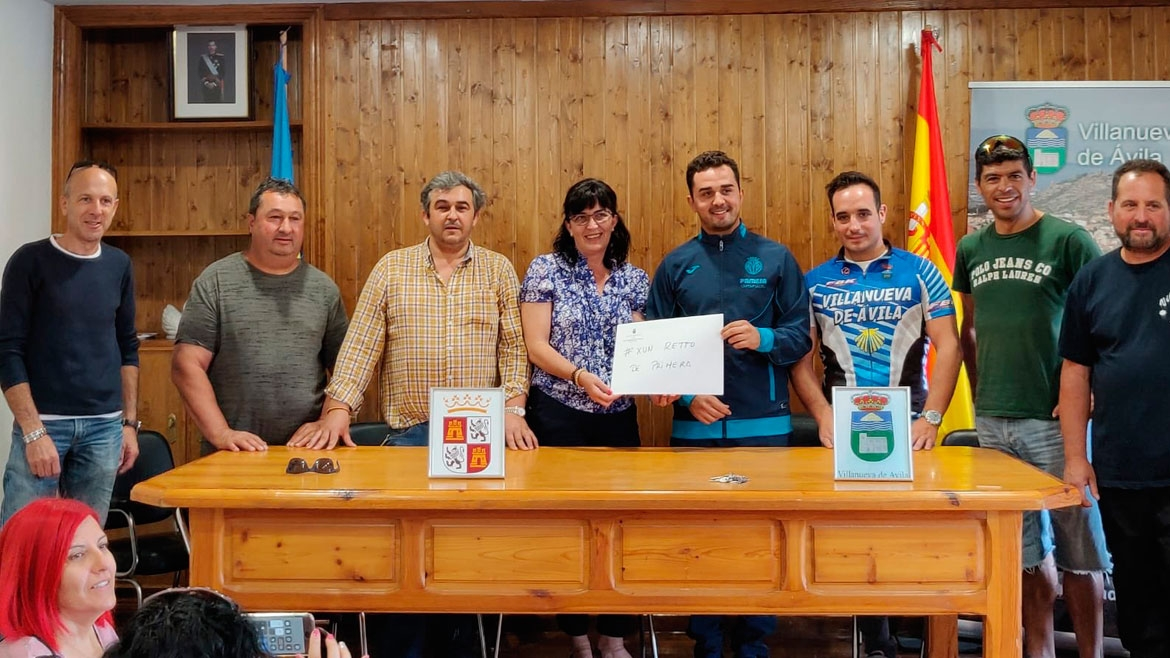 Cycling to Vila-real for a charitable cause