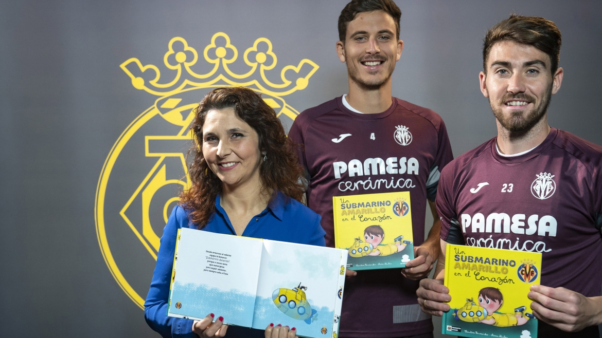 Villarreal unveil a children's book