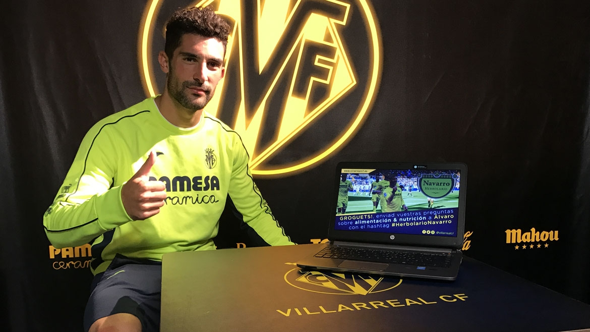 Álvaro answers fans' questions about nutrition
