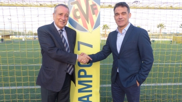 Luis García Plaza, new Villarreal CF manager