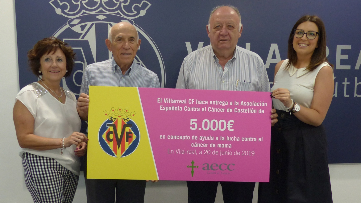 Villarreal helps in the fight against breast cancer