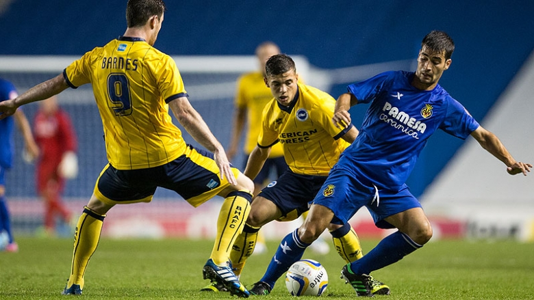 The Yellows faced Brighton & Hove Albion on English soil during their last pre-season.