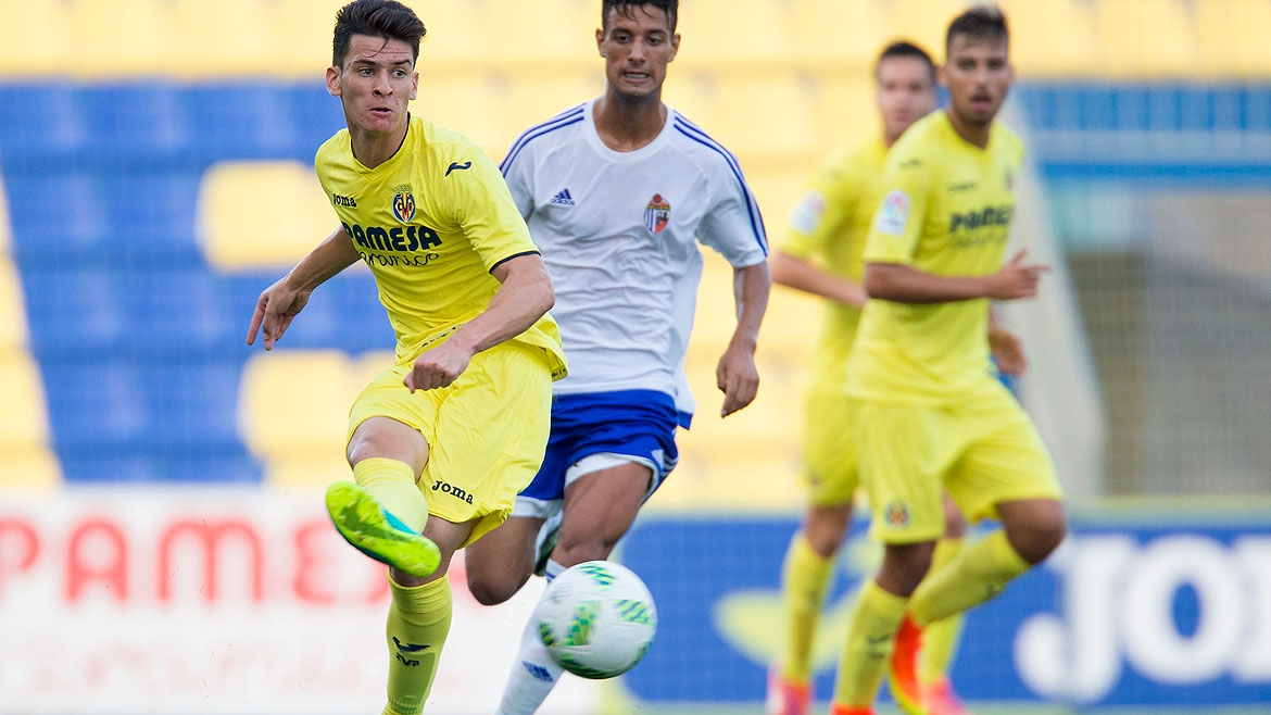 Chuca, in his last match for the Villarreal C team.