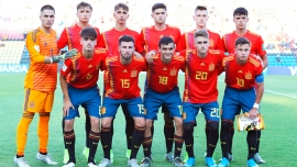Gerardo, starring with Spain in the U17 World Cup