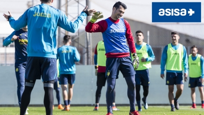 Andrés Fernández is given the all-clear
