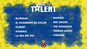 Y los participantes en Groc Talent son…
