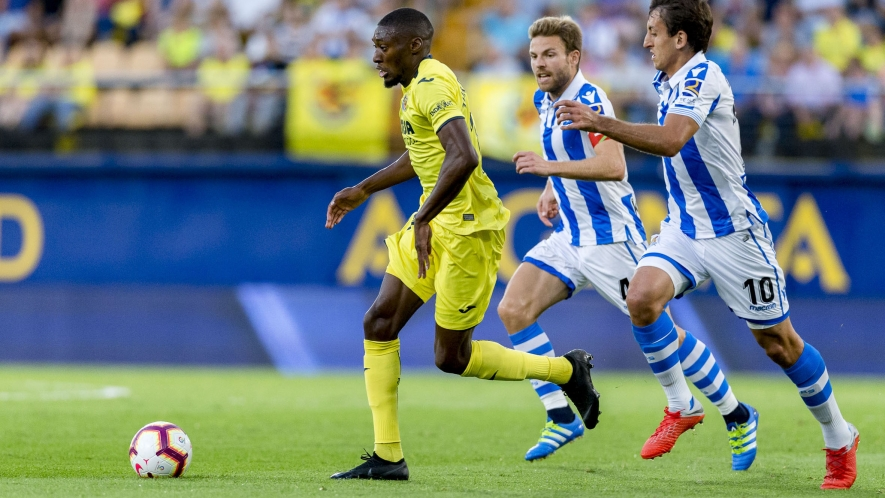Real Sociedad vs Villarreal, Thursday 25th at 8:30pm