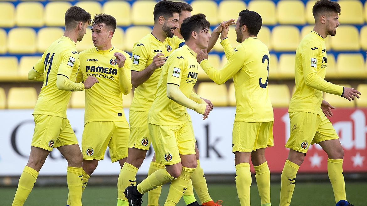 The Villarreal B team thrashed Llagostera (4-1) putting them just outside the play-off zone for promotion.