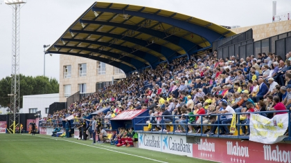 ¡Anima al Villarreal B en el Mini Estadi!