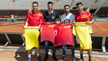 The club backs the 'Fiesta del Tenis Español'