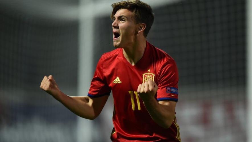 PHOTO: Nacho Díaz is a Spain U19 international.