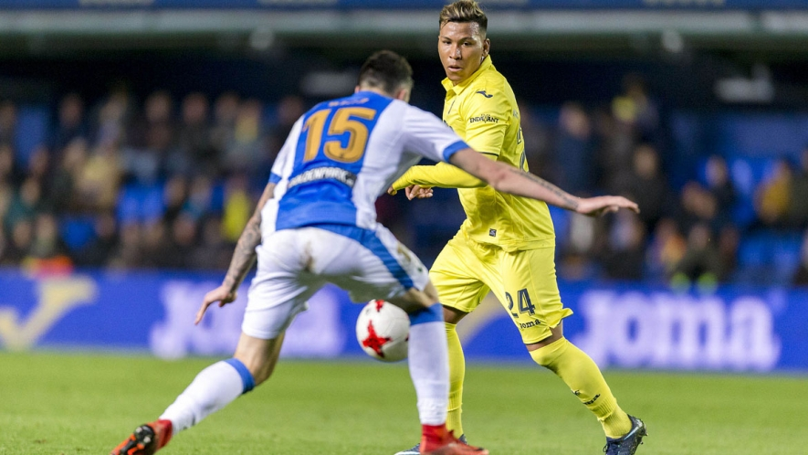 Photo: Roger Martínez made his debut as a Villarreal CF player yesterday in the cup tie vs CD Leganés.