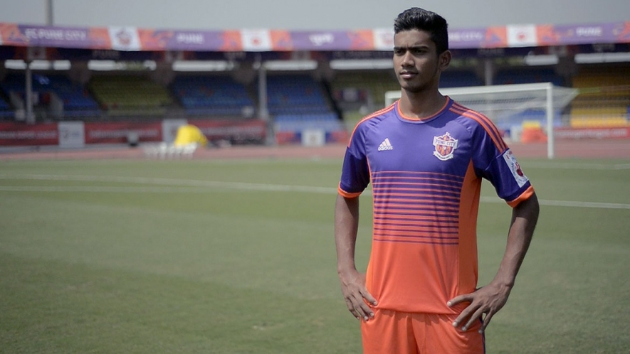 Ashique Kuruniyan is only 19 years old, but he has already taken the football world by storm in India.