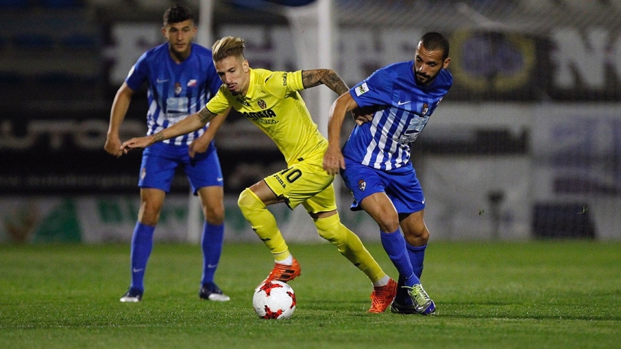 Photo: Samu Castillejo started against Ponferradina and had a few good chances in front of goal.