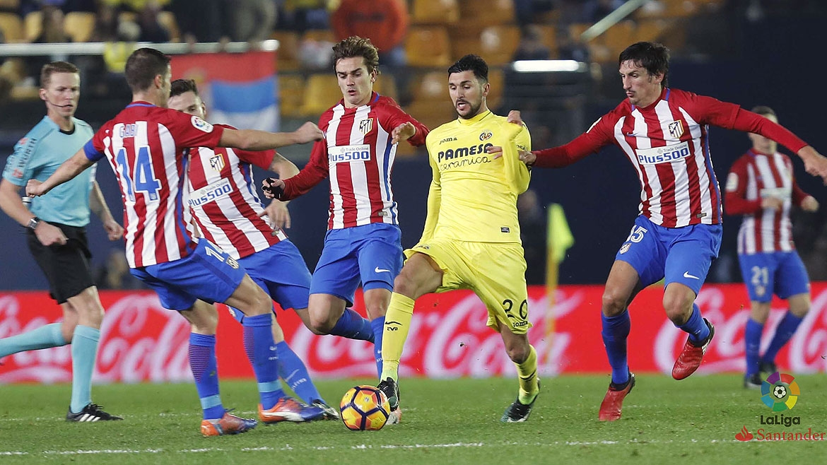 Atlético Madrid-Villarreal, Tuesday 25th April