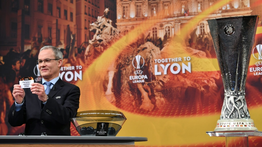 Photo: The draw was held at midday today in Nyon.