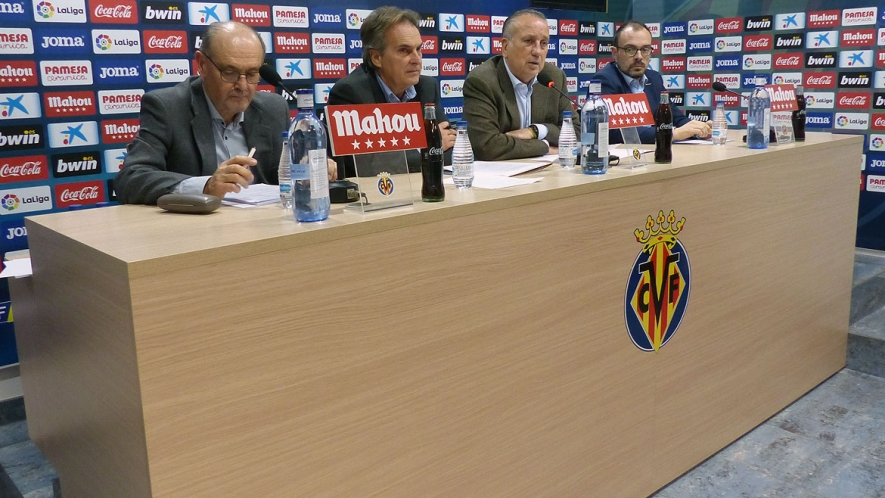 Photo: Villarreal CF's Annual General Meeting took place at the Villarreal CF Training Ground (Ciudad Deportiva).