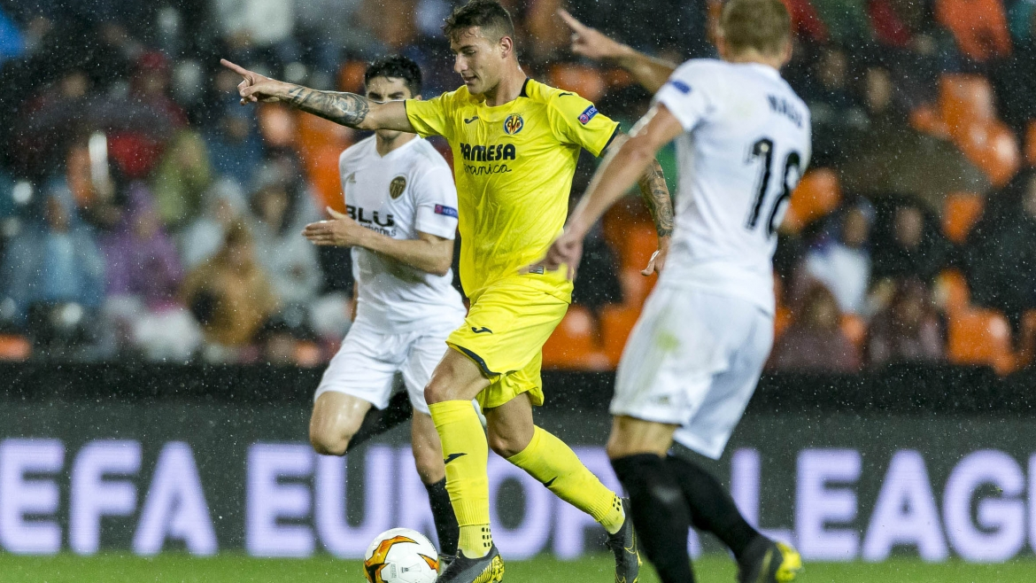 PHOTO: Dani Raba started against Valencia CF at Mestalla.
