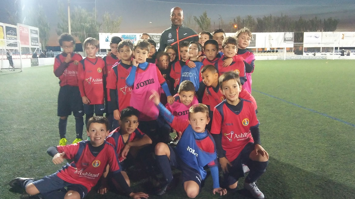 Senna's clinic with young talent from Benicarló