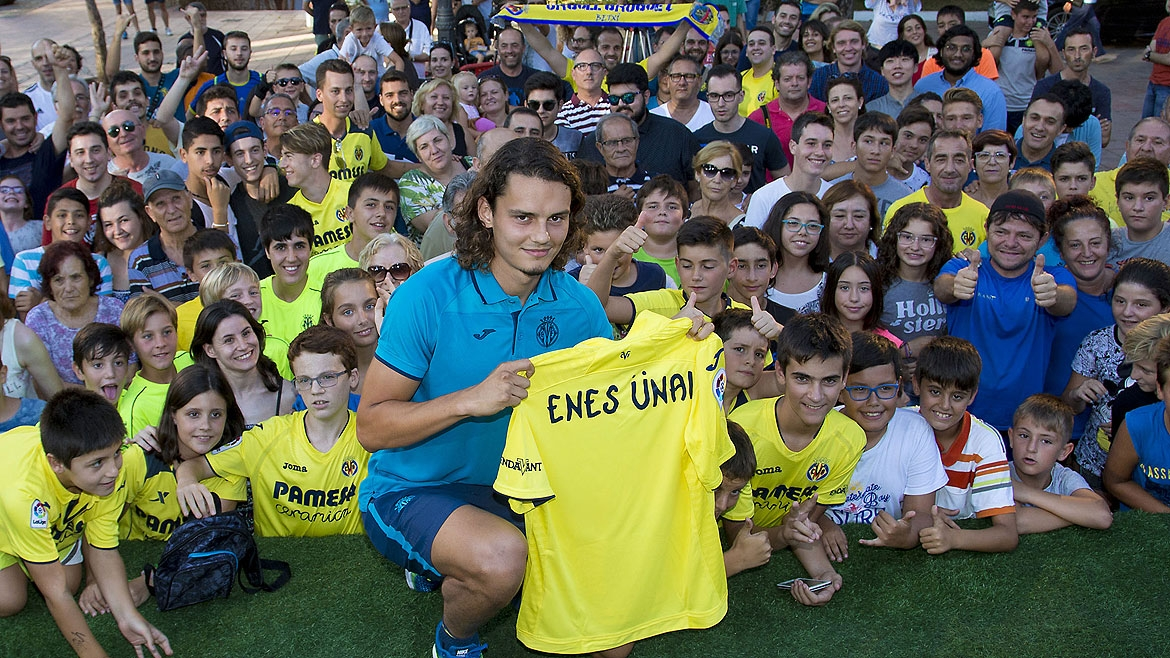 """Villarreal is the perfect club for me"""