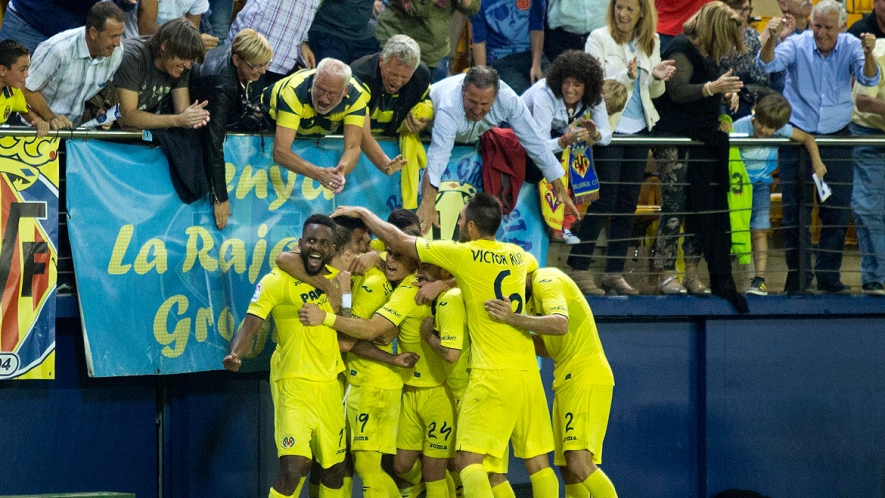 Bakambu scored in injury time and sparked madness inside El Madrigal.