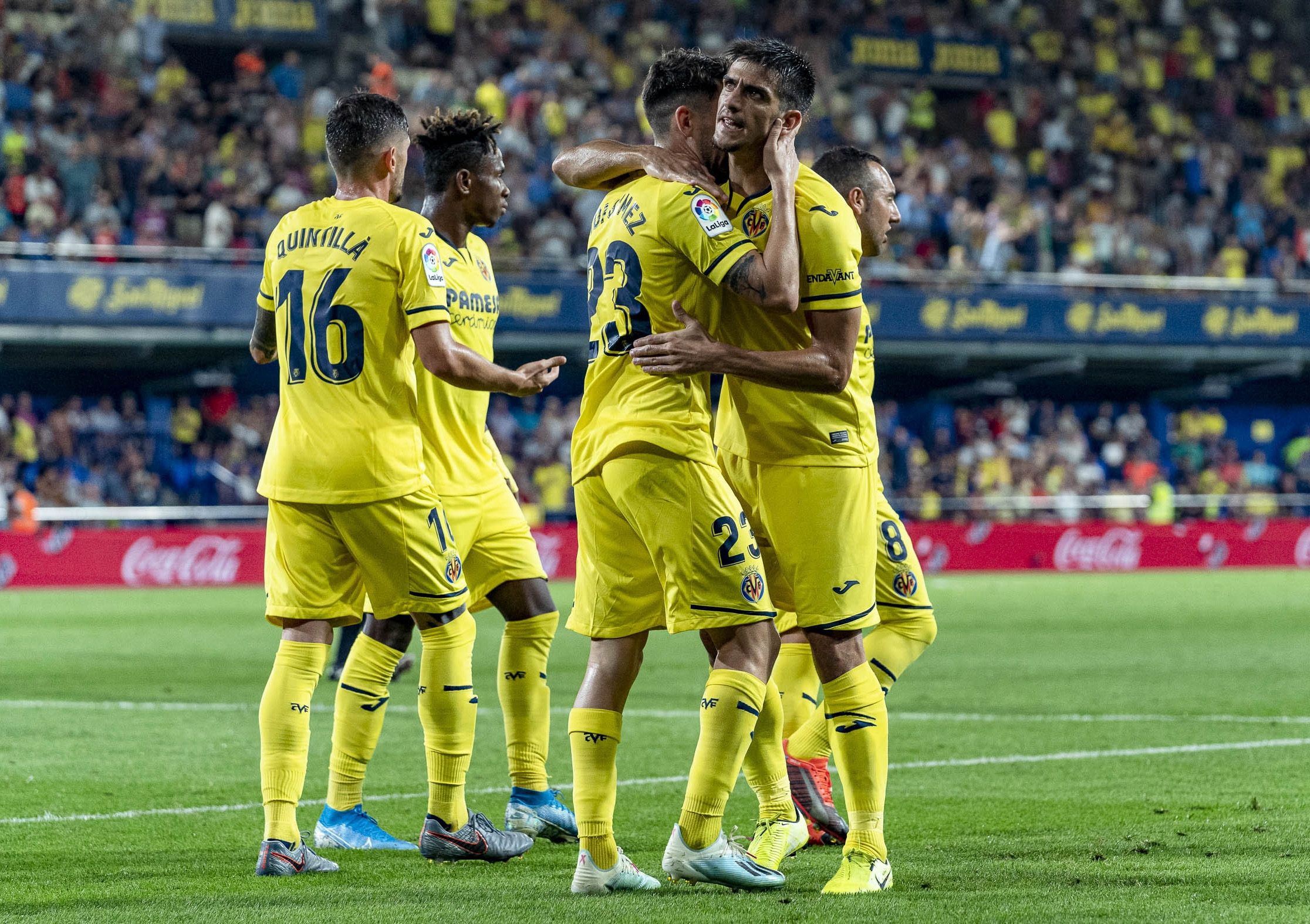 Get your ticket now to cheer on Villarreal at the Camp Nou!