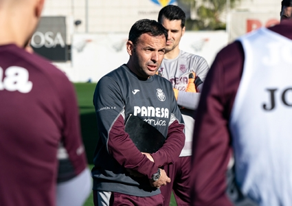 "Calleja: ""Trying to win at the Wanda will be a good challenge for us"""